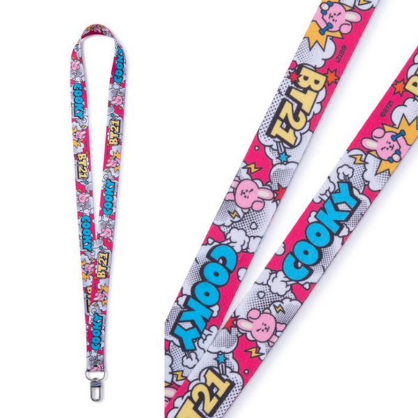 [BT21] OFFICIAL Neck Strap ''POP VERSION''