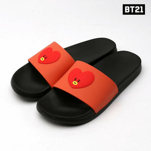 [BT21 x Line Friends] Silicone Slippers