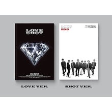 Load image into Gallery viewer, EXO -Love Shot Repackage Album (Choose Ver. + Free Shipping)