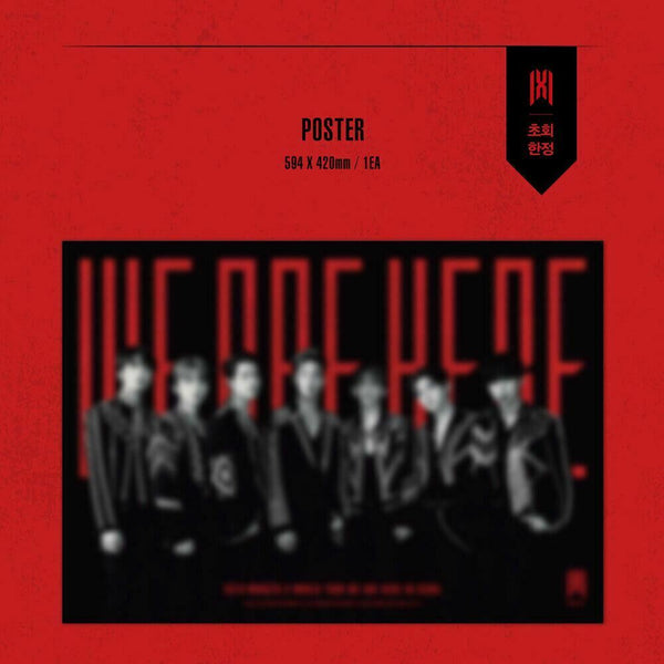 MONSTA X - 2019 WORLD TOUR WE ARE HERE IN SEOUL DVD (Free Shipping)