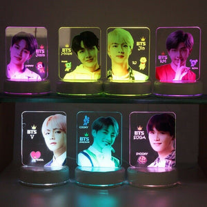 [BTS] Mood Light 7 Colors LED Lamp