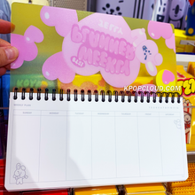 Load image into Gallery viewer, BT21 Official Weekly Planner