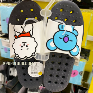 BT21 OFFICIAL BATHROOM SLIPPERS