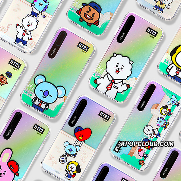 BT21 Official Universtar Graphic Character Light Up Case