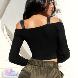 [ASIAN FASHION] Korean Style Crop Top