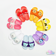 Load image into Gallery viewer, [BT21] Official Limited Plush Slippers