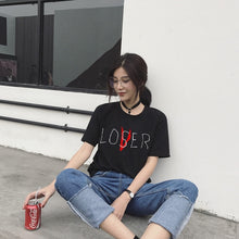 Load image into Gallery viewer, [AsianFashion] Lover/Loser Shirt