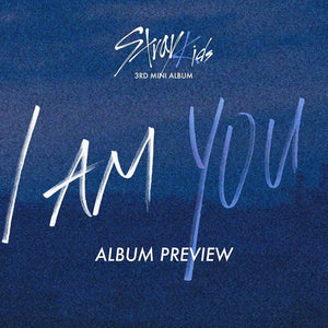 STRAY KIDS - I am YOU (3rd Mini Album) CD+ Folded Poster [You can choose ver. + Free Shipping]