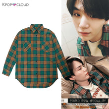 Load image into Gallery viewer, [BTS] Suga Plaid Shirt