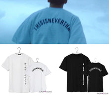 Load image into Gallery viewer, [BTS] Jungkook ''This is Never'' Shirt