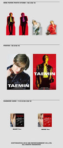 Taemin (SHINee) - Want (You can choose Ver + Free Shipping)