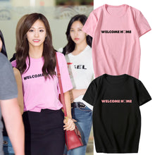 Load image into Gallery viewer, [Twice] Tzuyu ''Welcome Home'' Shirt