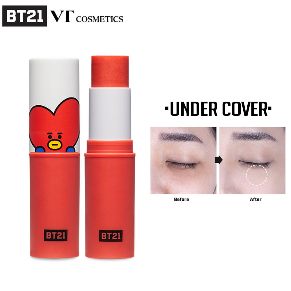 [BT21] Official VT Cosmetics Tata Fit On Stick Under Cover (9 5g - 0 33oz)