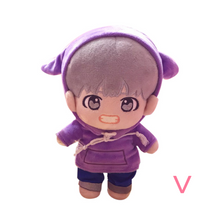 Load image into Gallery viewer, BTS Plush Doll with Clothes