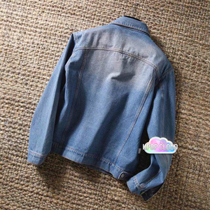 BTS Taehyung ''Boy with Luv'' Denim Jacket