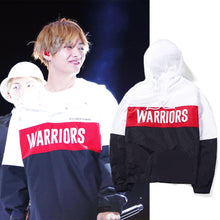 Load image into Gallery viewer, [BTS] Taehyung ''Warrior'' Hoodie