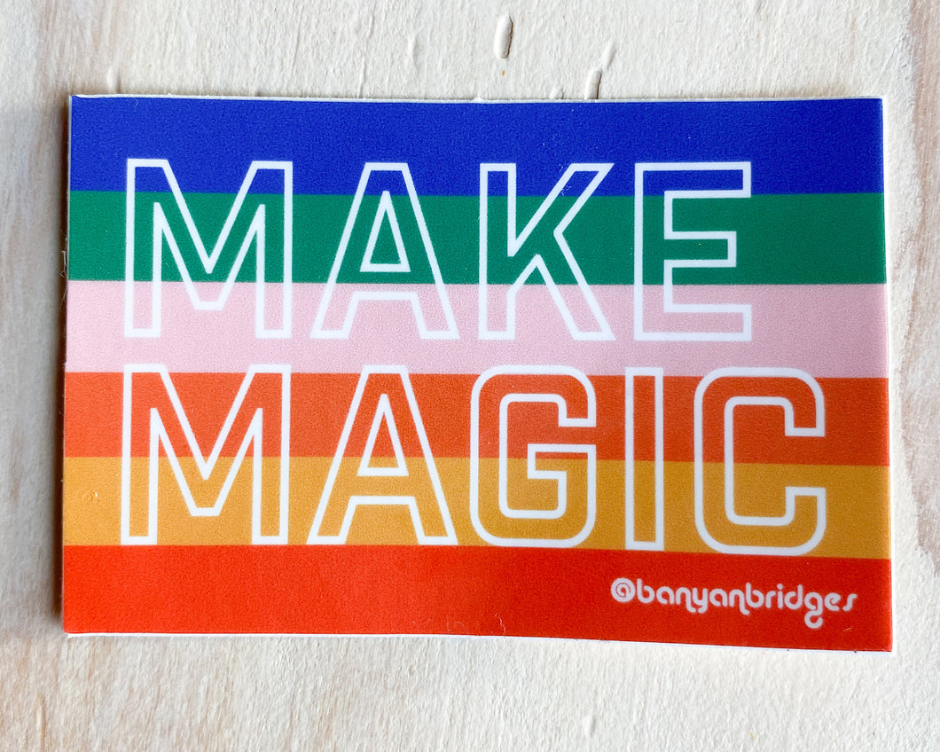 Make Magic Sticker