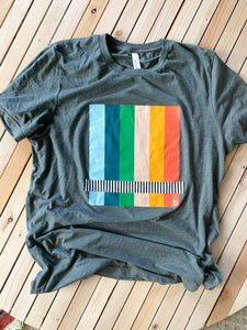 Broadcast Striped T-Shirt