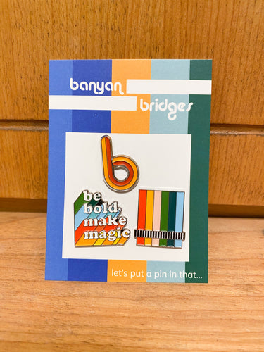 Banyan Bridges Pin Set