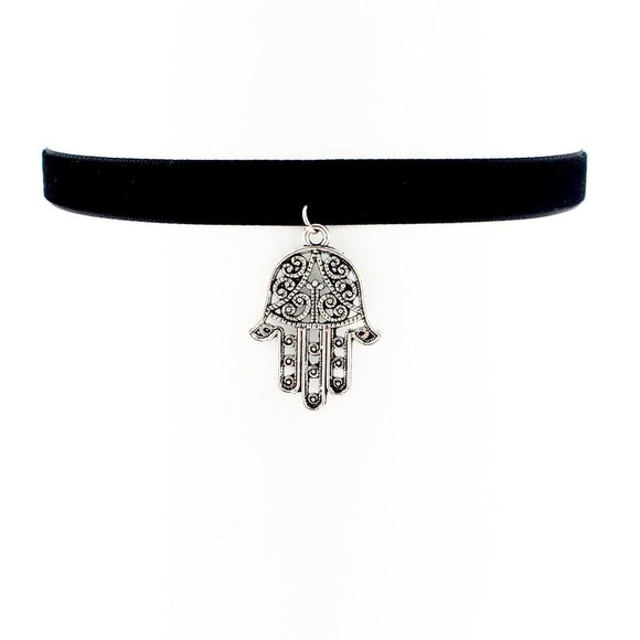 90'S CHARM CHOKER NECKLACE