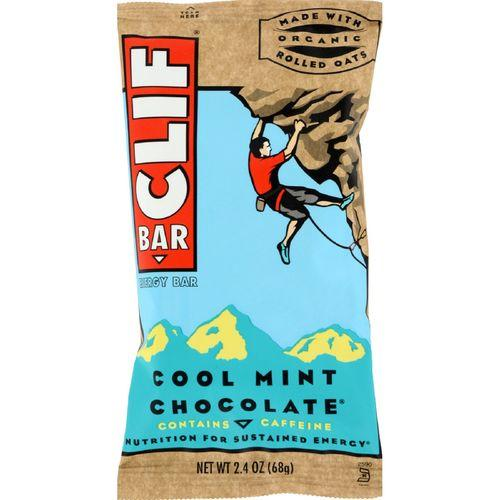 Clif Bar - Organic Cool Mint Chocolate - Case of 12 - 2.4 oz