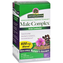 Nature's Answer Male Complex - 90 vcaps