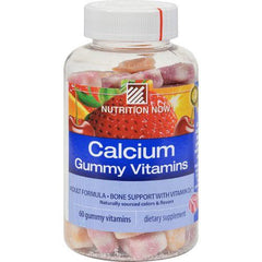 Nutrition Now Calcium Adult Gummy Vitamins - 60 Gummies