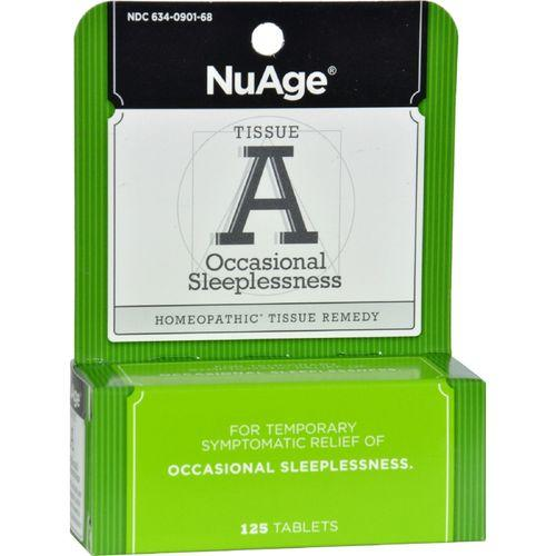 NuAge Labs Tissue A Insomnia - 125 Tablets