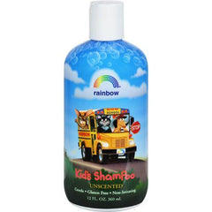Rainbow Research Organic Herbal Shampoo For Kids Unscented - 12 fl oz