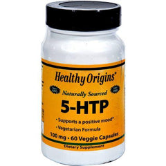 Healthy Origins Natural 5-HTP - 100 mg - 60 Capsules