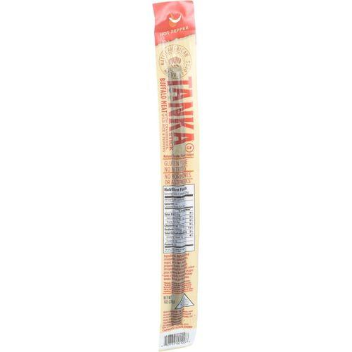 Tanka Bar Wild Snack Stick - Buffalo with Cranberry and Wild Rice - Spicy Pepper Blend - 1 oz - Case of 24