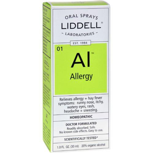 Liddell Homeopathic Oral Allergy Spray - 1 fl oz