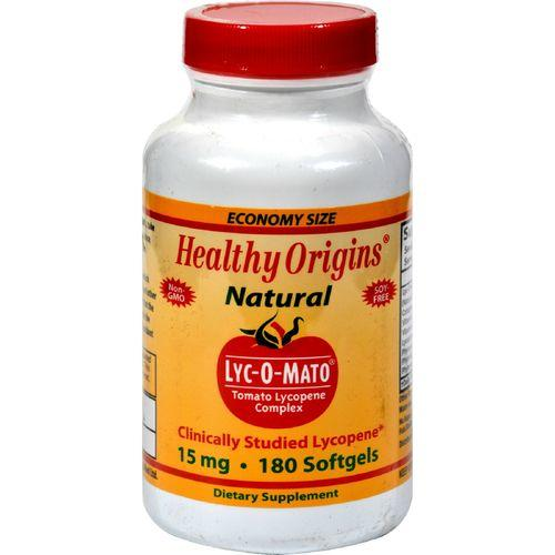 Healthy Origins Lyc-O-Mato - 15 mg - 180 Softgels