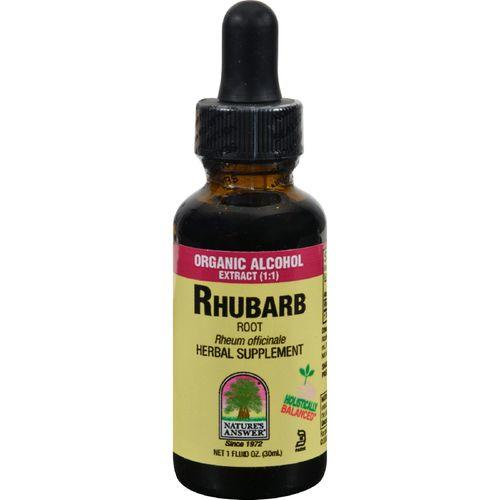 Nature's Answer Rhubarb Root - 1 fl oz