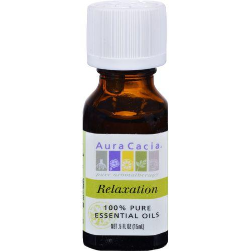 Aura Cacia Relaxation Essential Oil Blend - 0.5 fl oz