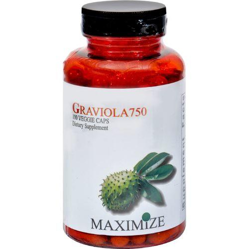 Maximum International Graviola750 - 100 Vegetarian Capsules