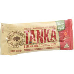 Tanka Bar - Buffalo with Cranberry - Spicy Pepper Blend - 1 oz - Case of 12