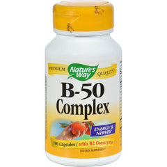 Nature's Way Vitamin B-50 Complex - 100 Capsules