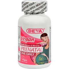 Deva Vegan Prenatal Multivitamin and Mineral - 90 Tablets