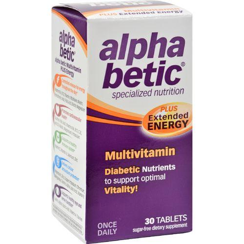 Nature Works Alpha Betic Once-A-Day Multiple Vitamins - 30 Caplets