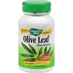Nature's Way Olive Leaf Olea Europea - 100 Capsules