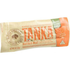 Tanka Bar Bites - Buffalo with Cranberries Apple and Orange Peel - 1 oz - Case of 12