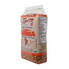 Bob's Red Mill Organic Red Quinoa Grain - 16 oz - Case of 4