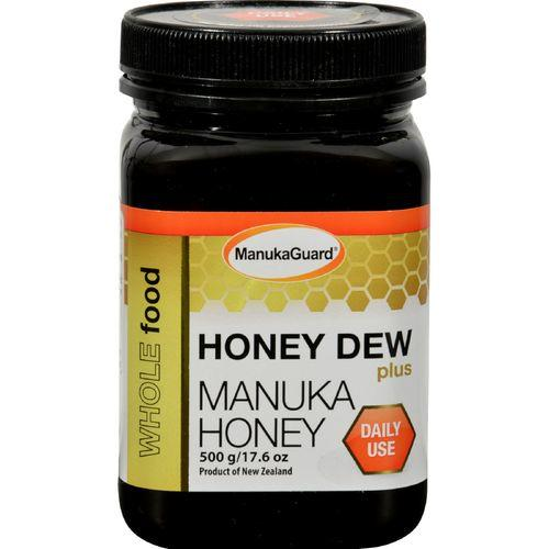 ManukaGuard Manuka Honey - Table Blend - Honey Dew Plus Manuka - 17.6 oz