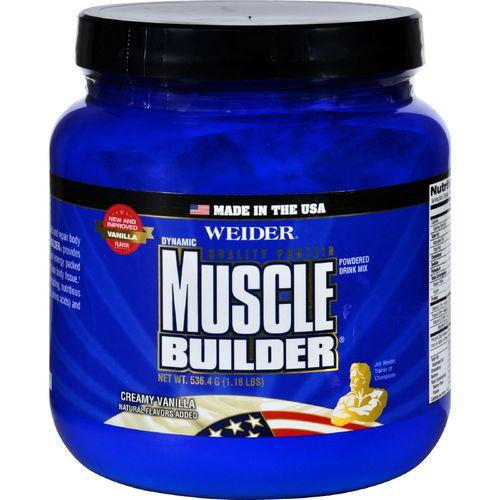 Weider Global Nutrition Muscle Builder - Dynamic - Powder - Vanilla - 1.18 lb