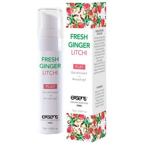 EXSENS of Paris Arousal Gel - 15 ml Fresh Ginger Lychee