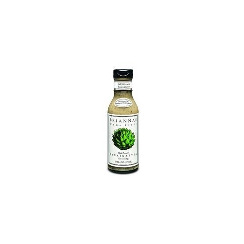 Brianna's Real French Vinaigrette Dressing (6x12Oz)