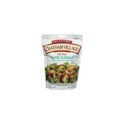 Chatham Village Croutons Garlic & Onion (12x5Oz)