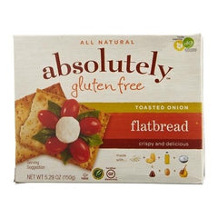 Absolutely Gluten Free Flatbread Toasted Onion (12x5.29Oz)
