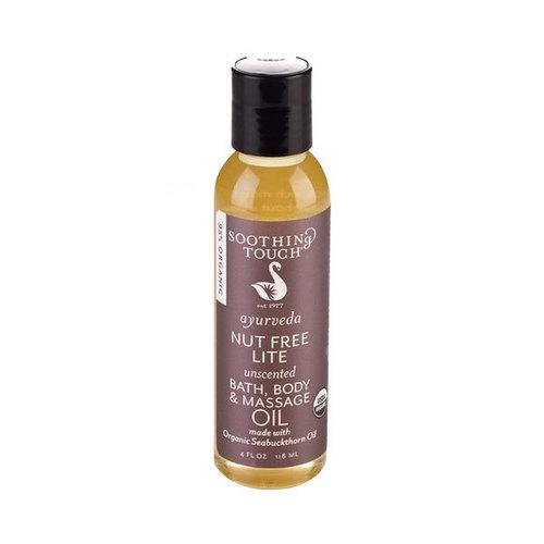 Soothing Touch Ayurveda Organic Bath, Body & Massage Oil (1x4 OZ)